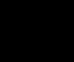Media ronda de madera