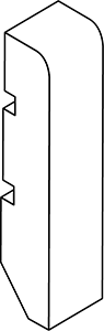Zócalo de madera