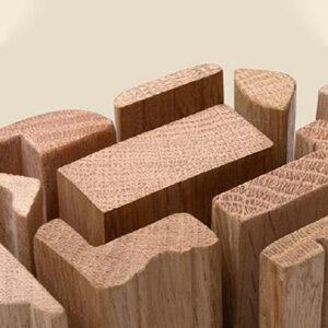 Massief houten lijstwerk