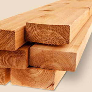 Massief houten batten